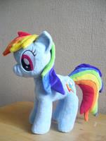 Minky Rainbow Dash by Pinkamoone