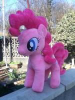 Minky Pinkie Pie Plushie by Pinkamoone