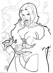 Emma Frost 3 by mikems71
