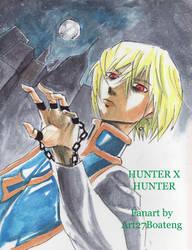 Kurapika! HunterXHunter! by Art27boateng