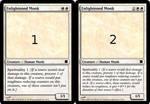 Magic Card: Enlightened Monk by JandorGr
