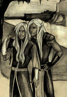 Twins by HeilyAens