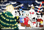Merry  Xmas With Toons! by Kirby-Popstar