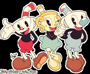The trio! by Kirby-Popstar
