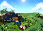 Taking A Break by Kirby-Popstar