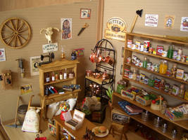 General Store Dollhouse 2 by ROWDYBIKER