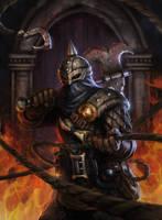 Darkest Dungeon: Hunter by t-biddy