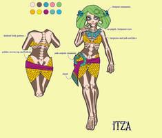 Itza character sheet by setsuna22