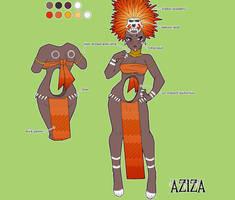 Aziza Character Sheet by setsuna22