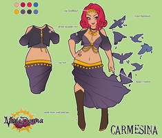 Carmesina Character Sheet by setsuna22