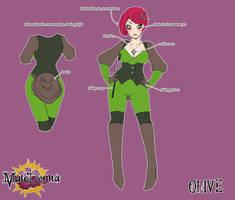 Olive Character Sheet by setsuna22