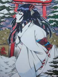 Yuki-Onna by setsuna22