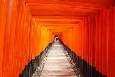 Fushimi Inari by setsuna22