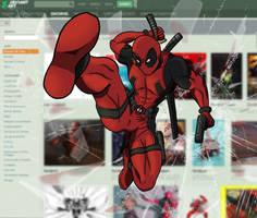 Deadpool by Kumata