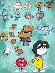Doodle Page #1 by tkmoneyteenDEV