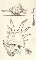 Styracosaurus 01 by JakeParker