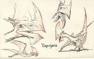 Tapejara 02 by JakeParker