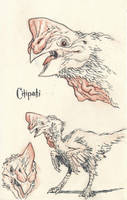 Citipati by JakeParker