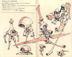 Sketchbook page by JakeParker