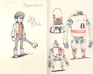 Sketchbook Page 03 by JakeParker