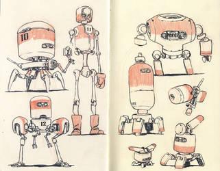 Sketchbook Page 04 by JakeParker