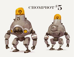Chompbot 5 by JakeParker