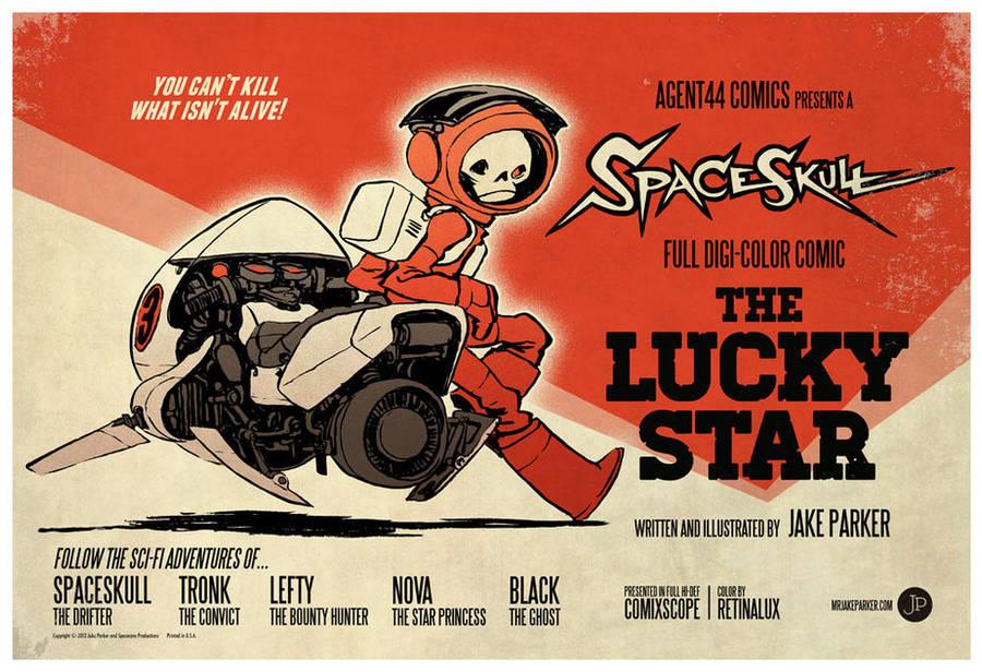 Spaceskul: The Lucky Star by JakeParker