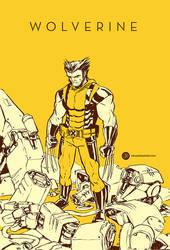 Wolverine by JakeParker