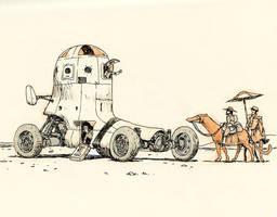 Desert rendezvous by JakeParker