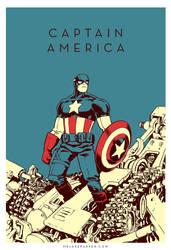 CAPTAIN AMERICA by JakeParker