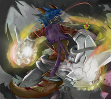 Fighting spirit by dragoon86