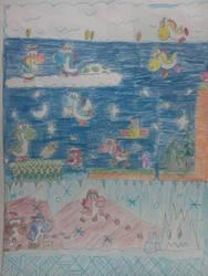 good ol' yoshi drawing by chromeyoshi