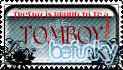TOMBOY STAMP by TRex102