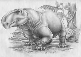 Ivantosaurus ensifer by FOSSIL1991