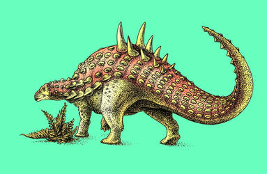 Dinovember - Day 1 - Acantholipan gonzalezi by FOSSIL1991