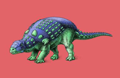 Dinovember - Day 2 - Invictarx zephyri by FOSSIL1991
