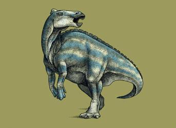 Dinovember - Day 15 - Laiyangosaurus youngi by FOSSIL1991