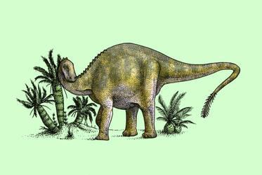 Dinovember - Day 16 - Lingwulong shenqi by FOSSIL1991