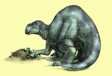 Dinovember - Day 22 - Choyrodon barsboldi by FOSSIL1991