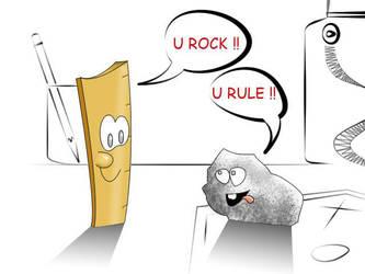 U rock U rule by nirman
