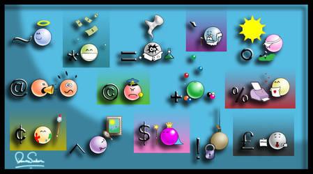 The dA Symbols by nirman
