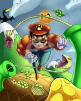 Super Mario by nirman