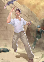 Uncharted 3 - Syrian brawl by nirman