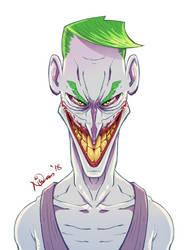 Joker by nirman