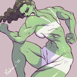 She Hulk by nirman