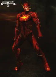 Ezra Miller as THE FLASH! by spidermonkey23