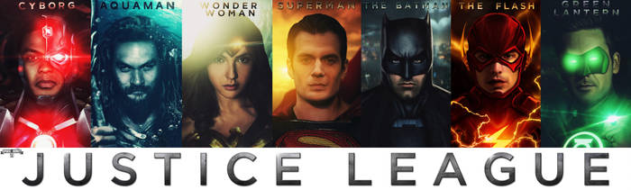Justice League - UNITE THE SEVEN. by spidermonkey23