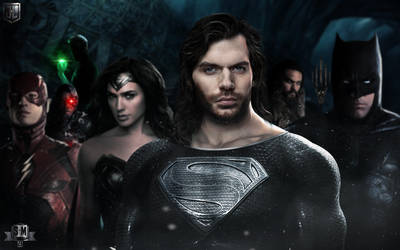 The Justice League. by spidermonkey23