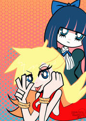 Panty and Stocking by Kell0x