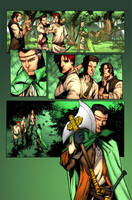 Wheel of Time issue 8 page 15 by NicChapuis